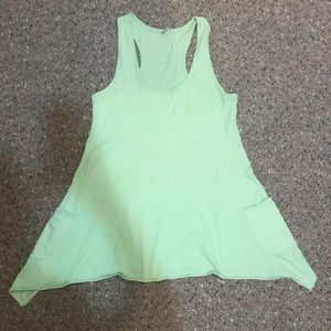 Tresics Cotton Jersey Tank Top with Pockets